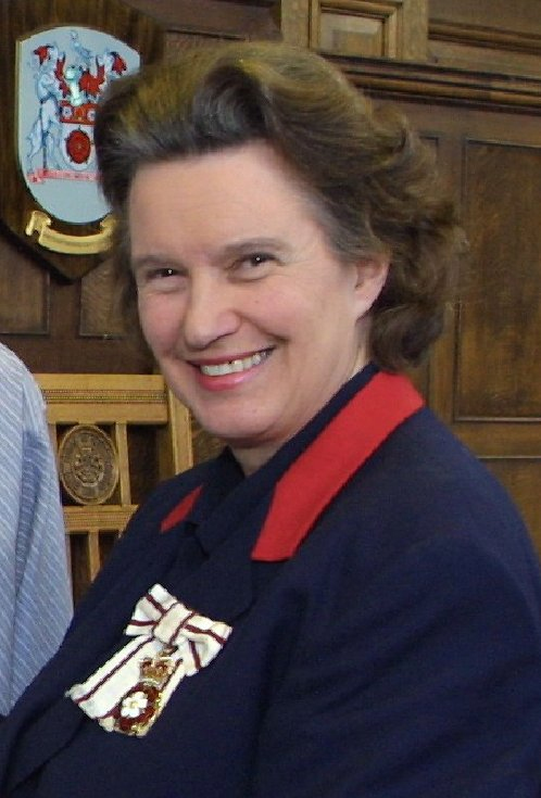 Lady Juliet Townsend Lord Lt of Northamptonshire LVO